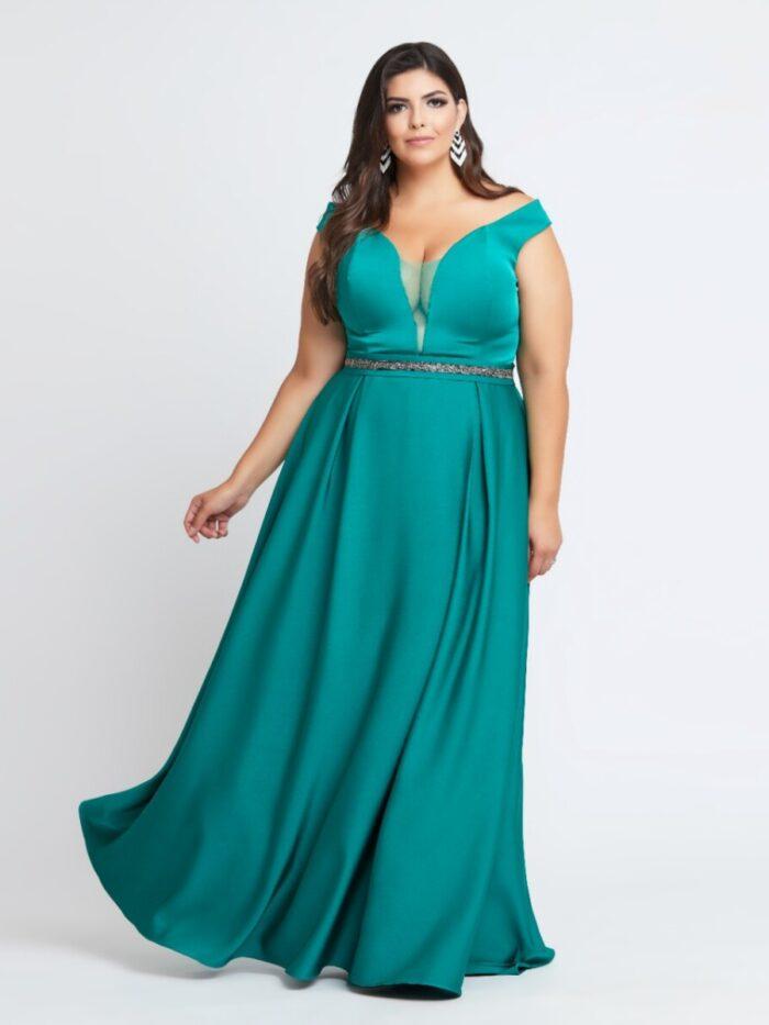vestido de festa - plus size