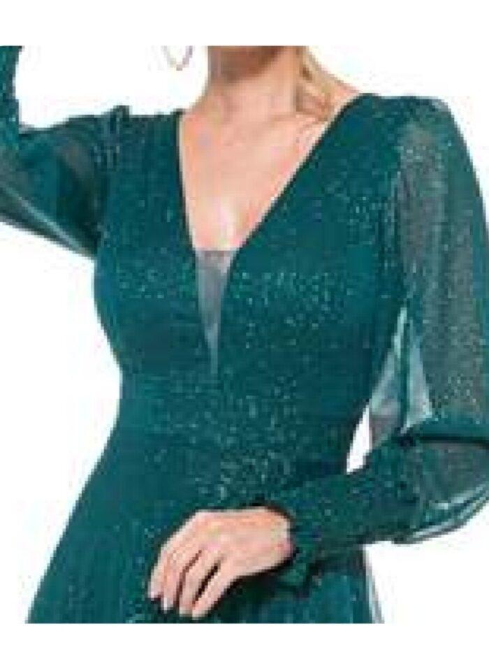 vestido madrinha verde esmeralda